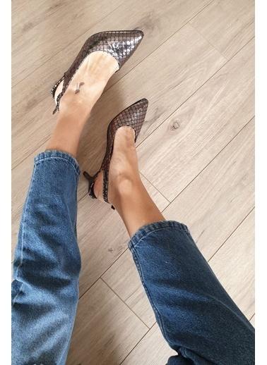 Topukla Casual Ayakkabı Gümüş